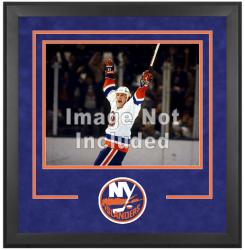 "New York Islanders Deluxe 16"" x 20"" Horizontal Photograph Frame - Mounted Memories"