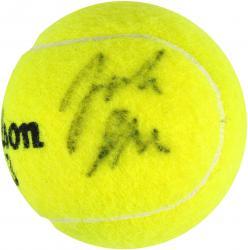 John Isner Autographed US Open Logo Tennis Ball