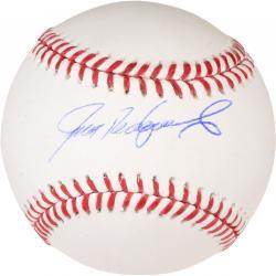 Ivan Rodriguez Texas Rangers Autographed Baseball