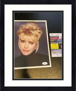 Ivana Trump Signed Autographed 8x10 Photo With JSA COA Donald Trump First Wife