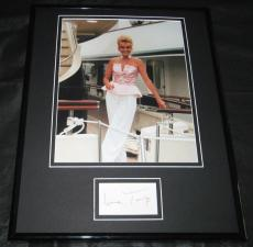 Ivana Trump Signed Framed 11x14 Photo Display Donald Trump Ex Wife