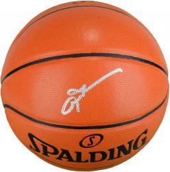Allen Iverson Philadelphia 76ers Autographed Spalding Indoor Outdoor Basketball