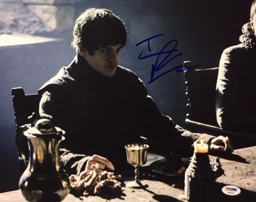 Iwan Rheon Signed Game Of Thrones 11x14 Photo PSA AB92872