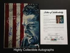 J. Edgar Cast 10 Signed 11x14 Photo Autograph Psa Dna Coa Loa Leonardo Dicaprio