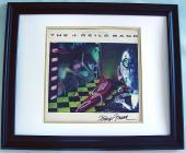J. GEILS Autographed PETER WOLF CUSTOM FRAMED Signed LP   AFTAL