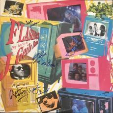 J Geils Band Signed 'flashback The Best Of..' Album Cover 5 Autographs Jsa Coa