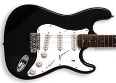 J. Geils Peter Wolf Autographed Signed Guitar & Proof PSA/DNA AF AFTAL