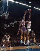 "Milwaukee Bucks Kareem Abdul-Jabbar Autographed 8"" x 10"" Photo vs. Los Angeles Lakers"