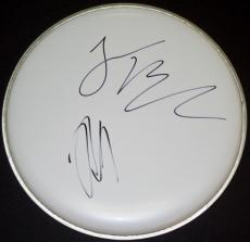 Jack Black and Kyle Gass Signed - Autographed Tenacious D Drum Head