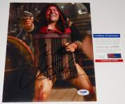 Jack Black Autographed 8x10 Color Photo (tropic Thunder) - Psa/dna!