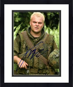 Jack Black Autographed Signed 8x10 Tropic Thunder Photo UACC RD AFTAL COA