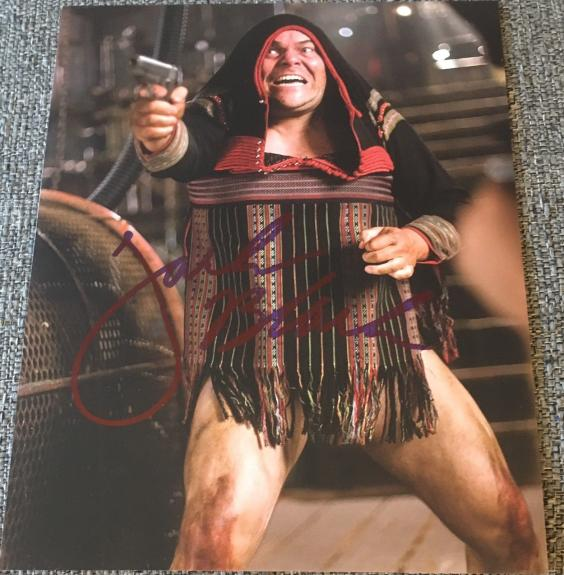 JACK BLACK SIGNED AUTOGRAPH CLASSIC TROPIC THUNDER RARE NEW 8x10 PHOTO COA B