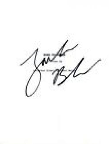 Jack Black Signed Autographed KUNG FU PANDA Movie Script COA VD