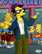 "JACK BLACK Signed Autographed ""The Simpsons"" 8x10 Photo PSA/DNA #Y94434"