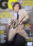 Jack Black Signed NO LABEL GQ Magazine JSA