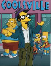 Jack Black signed The Simpsons 8x10 photo w/coa Milo Coolsville