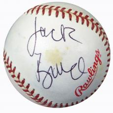 Jack Bruce Autographed Signed 1994 World Series Baseball Cream Beckett BAS