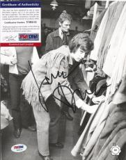"Jack Bruce ""cream"" Music Legend Deceased Signed 8x10 Magazine Page Psa/dna Coa D"