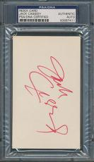 Jack Cassidy Index Card PSA/DNA Certified Authentic Auto Autograph Signed *7411
