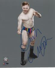 Jack Gallagher Signed WWE Photofile 8x10 Photo