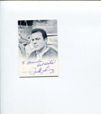 Jack Ging The Twilight Zone The Whole Truth Signed Autograph Photo Card