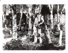 """JACK HALEY as the TIN MAN in """"THE WIZARD of OZ"""" (Passed Away 1979) Signed 10x8 B/W Photo"""