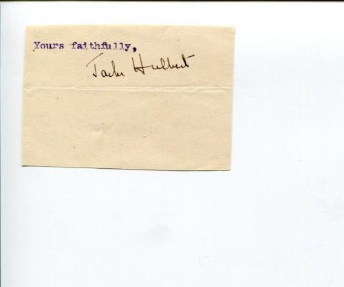 Jack Hulbert 1930s British Film Actor The Magic Box Signed Autograph