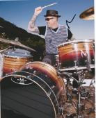Jack Irons Original Red Hot Chili Peppers Drummer Signed 8x10 Photo Pearl Jam 2