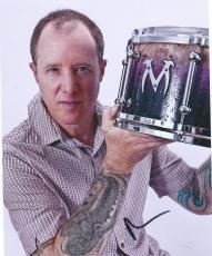 Jack Irons Original Red Hot Chili Peppers Drummer Signed 8x10 Photo Pearl Jam 3