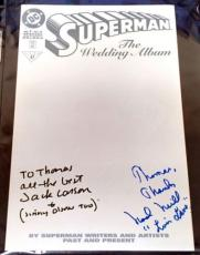 Jack Larson & Noel Niell Signed Superman #47 Comic 96 Guaranteed Authentic