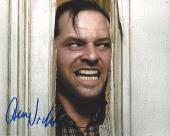 "JACK NICHOLSON as JACK TORRANCE in the 1980 Movie ""THE SHINING"" Signed 10x8 Color Photo"