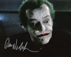 "JACK NICHOLSON as THE JOKER in ""BATMAN"" Signed 10x8 Color Photo"