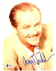 "Jack Nicholson Autographed 8""x 10"" Posed Smile Photograph - Beckett COA"