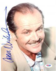 """Jack Nicholson Autographed 8""""x 10"""" Posed Smile Photograph - PSA/DNA COA"""