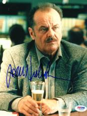 "Jack Nicholson Autographed 8""x 10"" The Pledge Drinking Beer Photograph - PSA/DNA COA"
