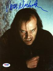 "Jack Nicholson Autographed 8""x 10"" The Shining Making Crazy Face Photograph - PSA/DNA COA"