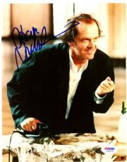 "Jack Nicholson Autographed 8""x 10"" Witches of Eastwick Ironing Photograph - PSA/DNA COA"