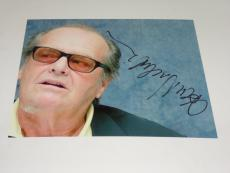 Jack Nicholson Autographed 8x10 Photo