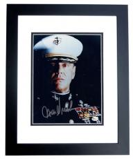 "Jack Nicholson Autographed ""A Few Good Men"" 8x10 Photo BLACK CUSTOM FRAME"