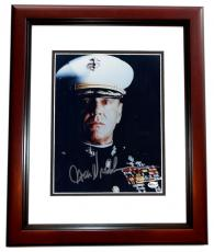 "Jack Nicholson Autographed ""A Few Good Men"" 8x10 Photo MAHOGANY CUSTOM FRAME"