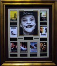 Jack Nicholson Autographed Framed Movie Collection
