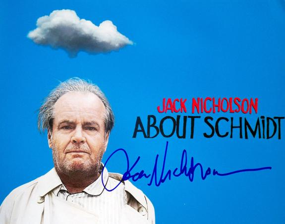 Jack Nicholson Autographed Signed About Schmidt 11x14 Photo AFTAL
