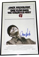 Jack Nicholson Autographed Signed Cuckoos Nest UACC RD COA