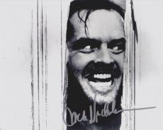 Jack Nicholson Autographed THE SHINNING 8x10 Photo