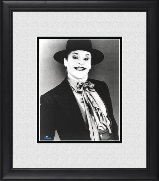 """Jack Nicholson Batman Framed 8"""" x 10"""" as The Joker Photograph"""
