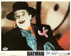 Jack Nicholson Batman Signed 11x14 Original Lobby Card Psa/dna #z92812