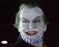 Jack Nicholson Batman Signed 8X10 Photo Autographed JSA #R94506