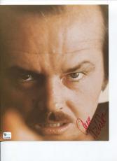Jack Nicholson Batman The Shining The Departed Rare Signed Autograph Photo COA