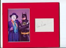 Jack Nicholson Batman Villian Joker Rare Signed Autograph Photo Display