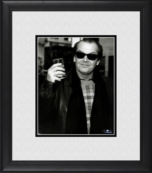 "Jack Nicholson Framed 8"" x 10"" Eyebrows Raised Photograph"